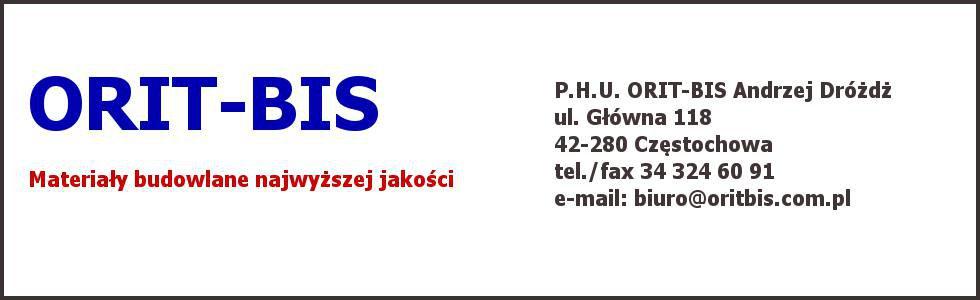 ORIT-BIS Materiały budowlane w Częstochowie
