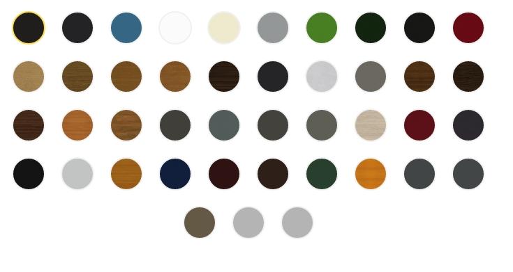kolory okien pcv w czestochowie